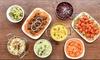 Indian Bay Feast + Wine or Mango Lassi