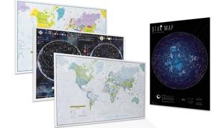Map monde éducative