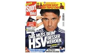Aboking: Rabatt auf ein 6-Monats-Abo der Zeitschrift Sportbild frei Haus