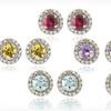 $13.99 for One Pair of Gemstone Stud Earrings