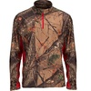 Trailcrest Men's Camo 1/4-Zip Tops (Size 2X)