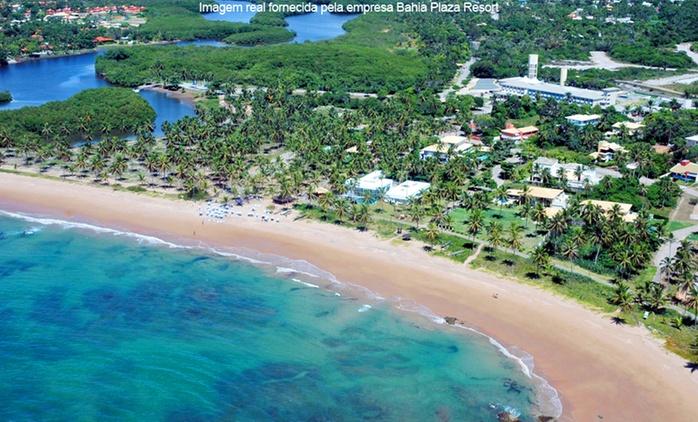 Camaçari/BA: até 7 noites para 2 pessoas + café da manhã ou pensão completa no Bahia Plaza Resort