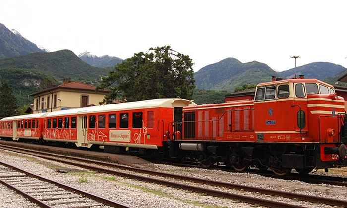 Il Treno dei Sapori - Passirano (BS): Treno dei Sapori - Tour su Lago d'Iseo e Franciacorta, visite guidate, degustazione di vini e prodotti da 39 € a persona