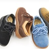 Coco Jumbo Lace-Up Suede Oxfords for Toddlers