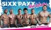 "Sixxpaxx Theater GmbH - SixxPaxx Theater & Wild House Berlin: Tickets für ""Sixx Paxx"" im Oktober oder November, opt. inkl. 1 Flasche Prosecco, im Wildhouse Berlin (bis zu 49% sparen)"