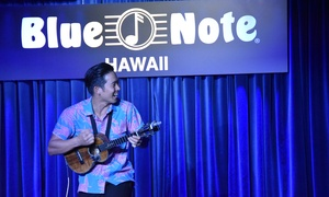 Up to 52% Off Concert at Blue Note Hawaii at Blue Note Hawaii, plus 9.0% Cash Back from Ebates.