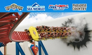 Village Roadshow Theme Parks: $89.99 VIP Magic Pass: Unlimited Entry to Warner Bros. Movie World, Sea World, Wet'n'Wild Gold Coast + Paradise Country