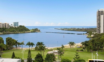Coolangatta Beach: 2, 3 or 5 Nights for 2 or 4 People with Wine, Chocolates and Late Check-Out at Tweed Ultima, NSW