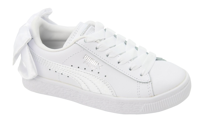 check out a5085 9a213 Puma Basket Bow Trainers