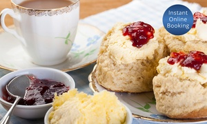 Unwind Craft Cafe: Devonshire Tea for Two ($12) or Four People ($24) at Unwind Craft Cafe, Keilor East (Up to $50 Value)