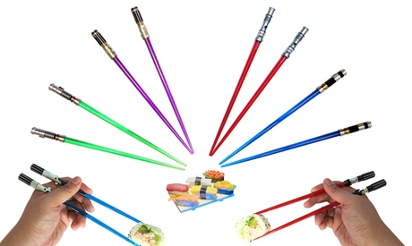 Star Wars Lightsaber Chopsticks (1- or 2-Pack) 23ff1b7e-bbf9-11e6-b01e-002590604002