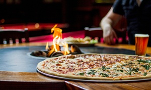 The Ballroom: Two Slices of Pizza with Either One Hour of Pool or One Pitcher of Domestic Beer at The Ballroom (Up to 48% Off)
