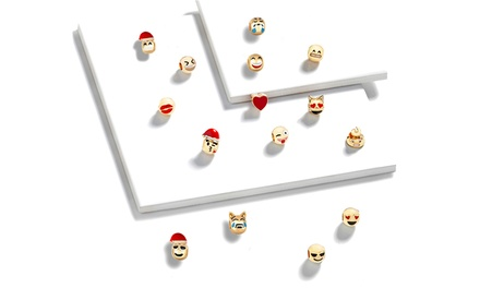 Christmas Emoji Jewellery Advent Calendars: One $19 or Two $35