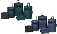 Travelers Choice Versatile Luggage Set 5-Piece - New Open Box