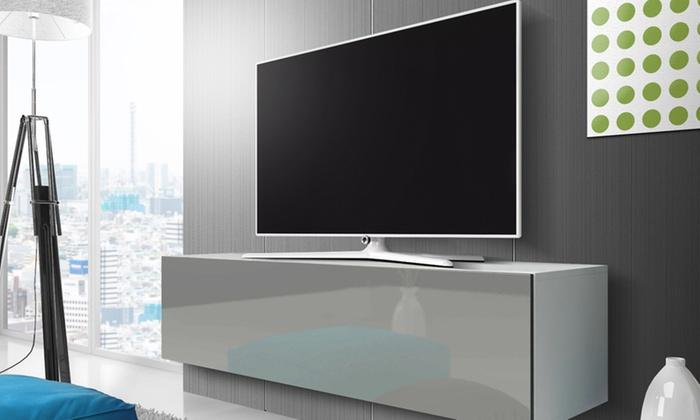 Porta Tv Pensile.Mobile Pensile Porta Tv Point Groupon Goods