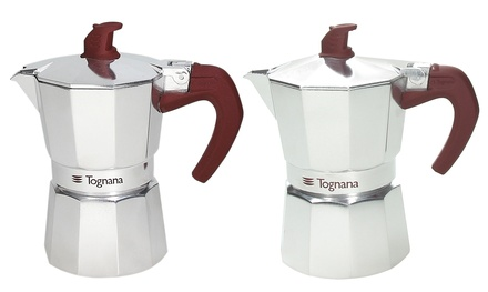 1 o 2 caffettiere Tognana da 1, 2 o 3 tazze