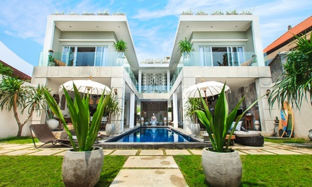 Seminyak, Bali: 5Night Stay People with Breakfast and Airport PickUp at Seminyak Beach Luxury Villa