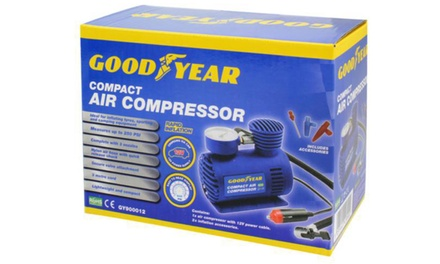 Goodyear 12V Compact Car Tyre Air Compressor