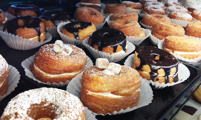 Dolce Bistro & Bakery - Montclair: One or Two Dozen Croughnuts or Cupcakes at Dolce Bistro & Bakery (52% Off)