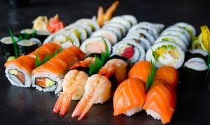 Zestawy sushi: 22 kawałki, 8 sztuk spring rolls oraz napój za 89,99 zł i więcej opcji w KOKU Sushi – 2 miasta