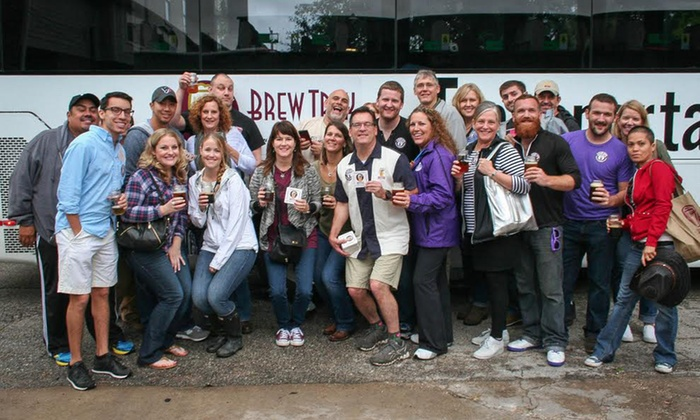 Brew Trek Houston - Brew Trek Houston: Roundtrip Brewery Bus Tour for One, Two, or Four with Brew Trek Houston (Up to 51% Off)