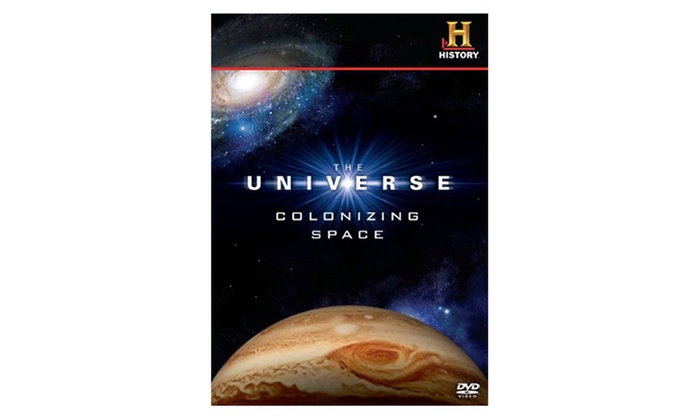 The Universe: Colonizing Space on DVD