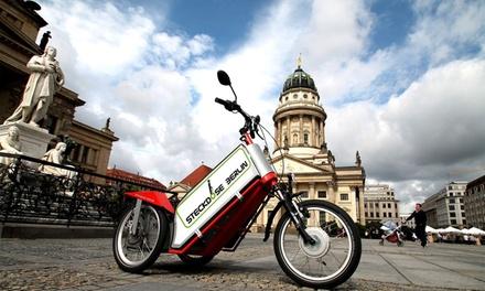 2,5 Std. geführte E-Mobil-Tour für 2, 4 oder 6 Personen bei Steckdose Berlin (30% sparen*)
