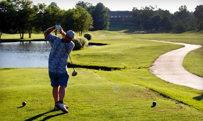 The Woodlands Golf Club - The Woodlands Golf Club: 18-Hole Round of Golf with Cart Rental for Two or Four at The Woodlands Golf Club (Up to 56% Off)
