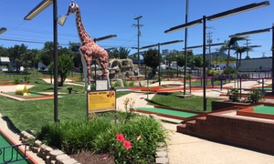 Up to 52% Off Putt-Putt Golf and Arcade Games  at Putt-Putt Fun Center , plus 6.0% Cash Back from Ebates.