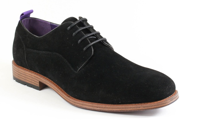 Andrew Men's Faux Suede Derby Shoes (Size 8.5)