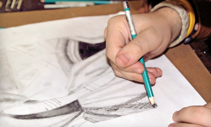 Pastimes for a Lifetime - Van Nuys: One or Five Drawing Classes with Project Booklet at Pastimes for a Lifetime (Half Off)