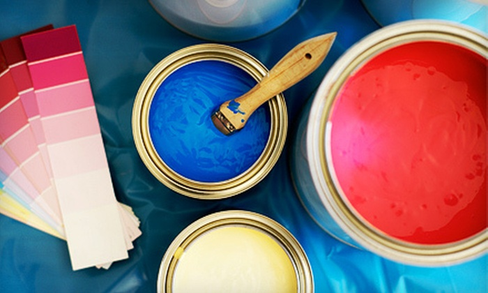A & T Painting Services - Downtown Winnipeg: Interior Painting for One, Two, or Three Rooms by A and T Painting and Decorating (Up to 72% Off)