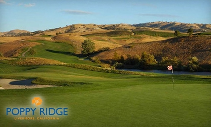 Poppy Ridge Golf Course - Livermore-Pleasanton: $70 for a Round of Golf, Cart Rental, and NCGA Membership at Poppy Ridge Golf Course in Livermore (Up to $152 Value)