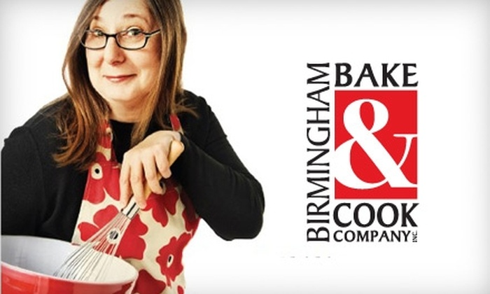 Birmingham Bake & Cook Company - Hoover: $20 for $40 Worth of Baking and Cooking Equipment at Birmingham Bake & Cook Company