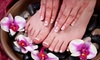 Freestyle Salon - Mill Bay: Mani-Pedi or Mani-Pedi Package with Foot Therapy at Freestyle Salon & Spa