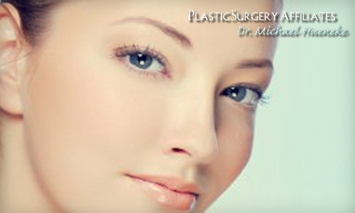 Plastic Surgery Affiliates - Watkins Park: $99 for Three Laser Hair-Removal Treatments on One Area (Up to $450 Value) or $599 for Eight SmoothShapes Cellulite-Removal Treatments (Up to $1,600 Value) at Plastic Surgery Affiliates