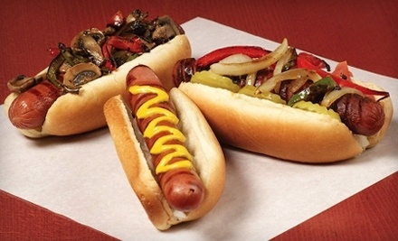 $10 Groupon to Jerry's Wood-Fired Dogs - Jerry's Wood-Fired Dogs in Santa Ana