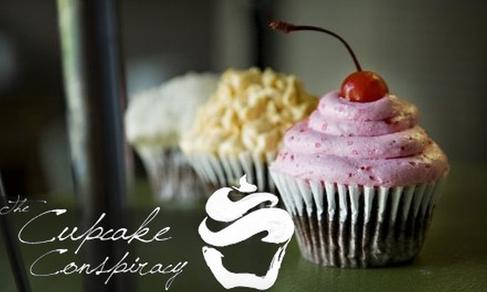 The Cupcake Conspiracy - Central Business District: $7 for Six Cupcakes at The Cupcake Conspiracy ($14 Value)