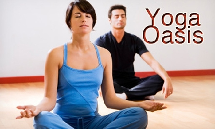 Yoga Oasis - Multiple Locations: $24 for a Five-Class Pass at Yoga Oasis ($50 Value)