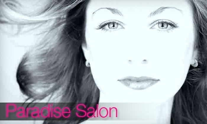 Paradise Salon - Des Moines: $125 for a Hair-Straightening Treatment, Deep-Conditioning Treatment, and 10% Off Haircare Products at Paradise Salon in Des Moines (Up to $495 Value)