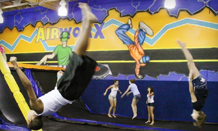 Airworx - Chandler: Two or Four One-Hour Jump Passes at Airworx in Chandler