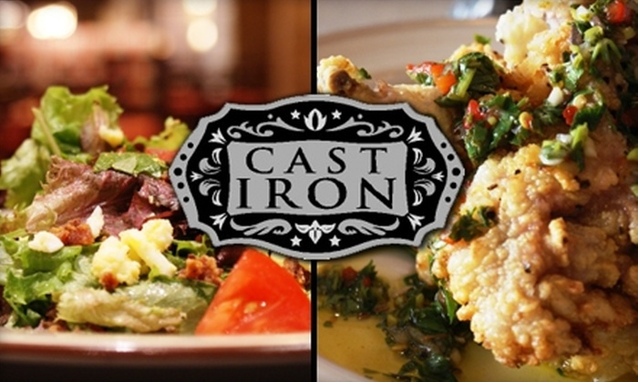 Cast Iron at the Omni Fort Worth Hotel - Downtown Fort Worth: $20 for $40 Worth of Modern Southern-Style Cuisine at Cast Iron at the Omni Fort Worth Hotel