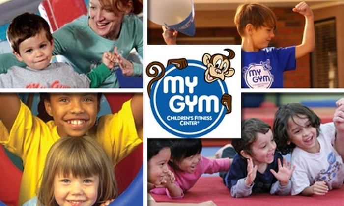 My Gym Children's Fitness Center - Bakersfield: $55 for a Lifetime Membership, Four Classes, and Four Free Plays at My Gym Children's Fitness Center ($115 Value)