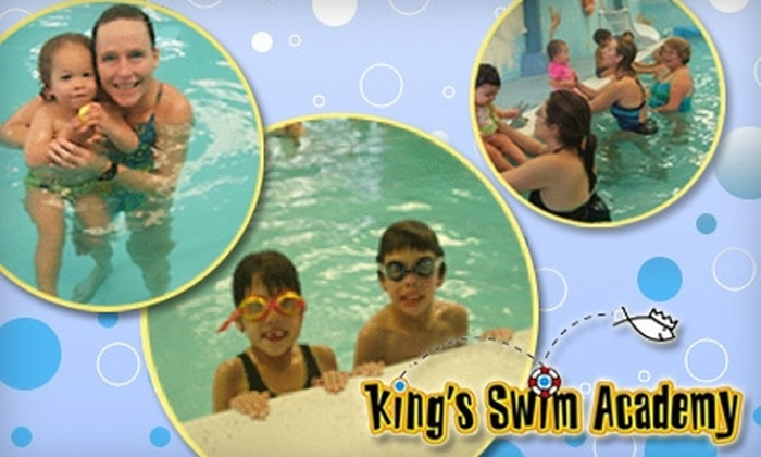 King's Swim Academy - Hillsdale: $79 for Eight Weeks of Adult or Child Group Swim Lessons at King's Swim Academy in San Mateo ($158 Value)
