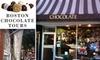 Taste of Chocolate - Boston: $25 for Boston Chocolate Tour ($48 Value)