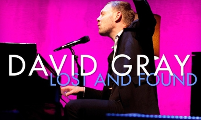 """David Gray: $6 for Digital Download of David Gray's """"Lost and Found – Live in Dublin 2011"""" Album, Plus a Free Track ($12.99 Value)"""