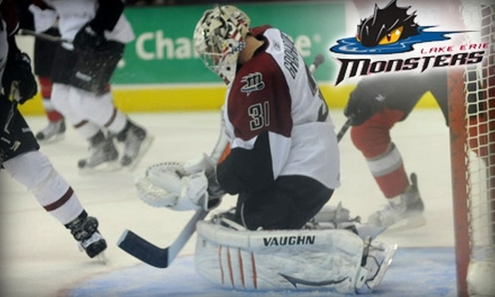 Lake Erie Monsters - Cleveland: $12 for One Ticket to Lake Erie Monsters AHL Hockey at The Q ($34.95 Value). Choose from Four Games.