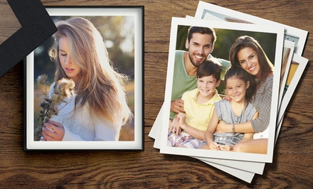 Boîte à photos avec 25 photos de 9 x 11 chez Photo.Gifts