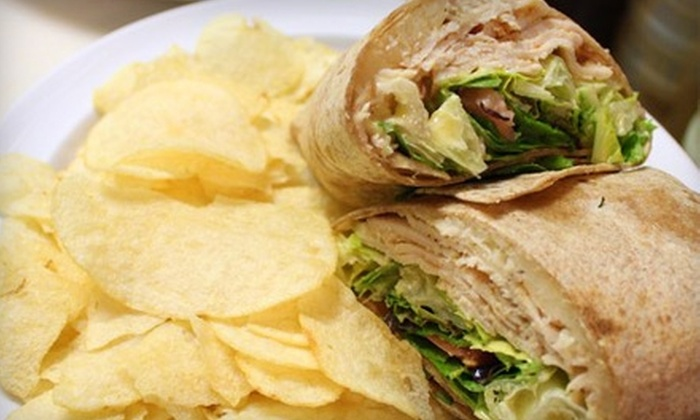 That's a Wrap - 5: $7 for $15 Worth of Healthy Café Fare and Drinks at That's a Wrap