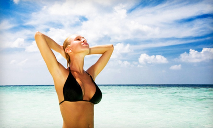 SoBella Salon - D Street - West Broadway: One or Four Airbrush Tans at SoBella Salon (Up to 56% Off)